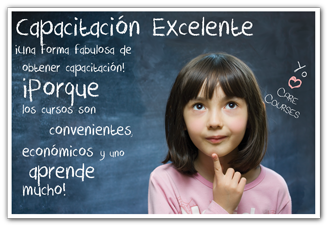 Care Courses Spanish childcare classes and Spanish credits for daycare centers, registered family homes, Headstart, and CDA en espanol
